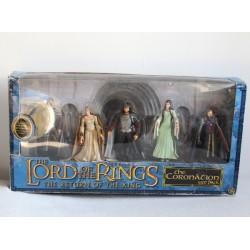 Coffret 5 figurines Le seigneur des anneaux TOY BIZ le retour du roi collection