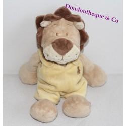 Peluche Baboum lion NOUKIE'S Hippoum Baboum et Zamba 26 cm
