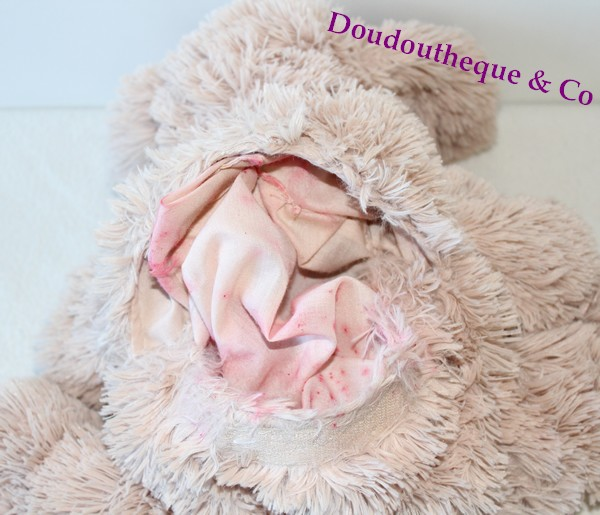 peluche chien etam range pyjama beige ouverture dans le dos bouillo. Black Bedroom Furniture Sets. Home Design Ideas