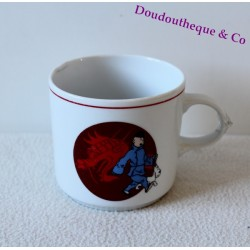 Mug porcelaine Tintin TABLES & COULEURS Le Lotus bleu tasse dragon