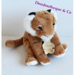 Doudou peluche Lion HISTOIRE D'OURS criniére blanche
