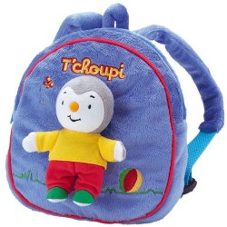 Backpack stuffed you Charlie JEMINI 23 cm Blue