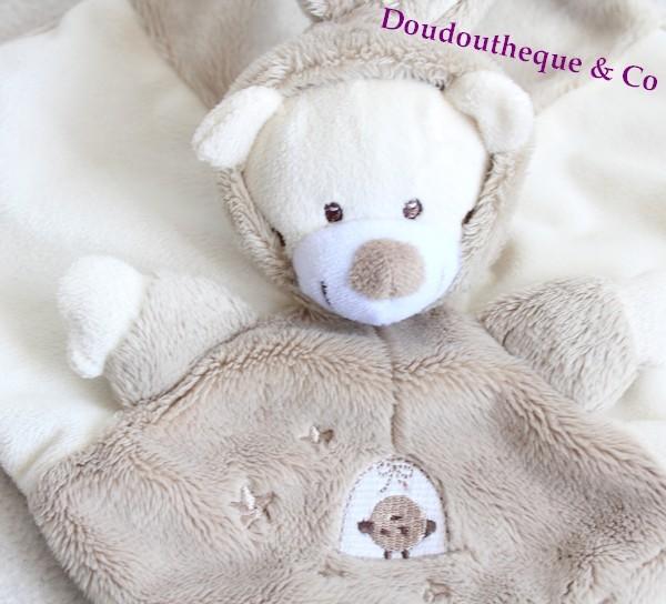doudou plat ours auchan d guis en lapin beige cage simba toys so. Black Bedroom Furniture Sets. Home Design Ideas