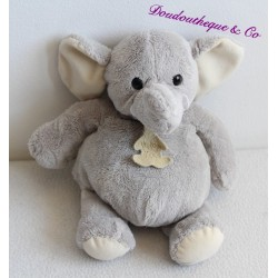 Doudou elephant story of gray bear 25 cm