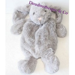 Plush rabbit ETAM range Pajamas doudou bouillotte 48 cm grey
