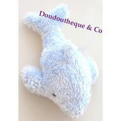 Peluche Dauphin bleu MARINELAND 17 cm