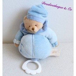 Doudou musical ours BABY NAT 22cm