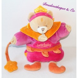 Doudou puppet bear DOUDOU AND COMPAGNY Indidou collection 30 cm