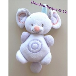 Doudou musical souris NATTOU bubbles 15cm